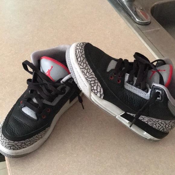 """the best attitude d6195 8a32a Jordan retro """"Black Cement"""" 3s"""